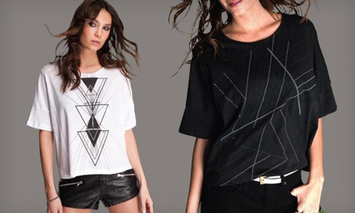Clvb Life by DJ Tiësto Women's T-Shirts: SharkStores, LLC
