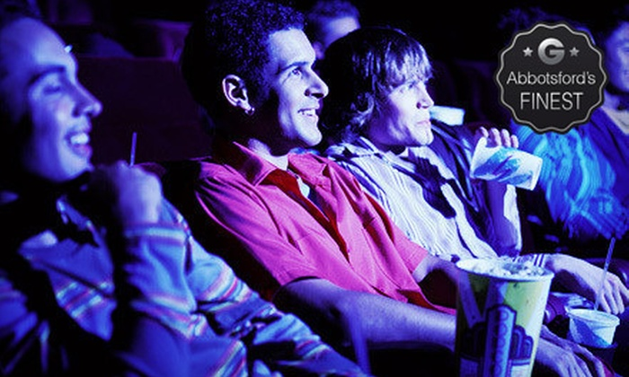 Cottonwood 4 Cinemas - Sardis - Vedder: Movie with Popcorn and Drinks for Two or Four, or 10 Movie Tickets at Cottonwood 4 Cinemas (Up to 58% Off)