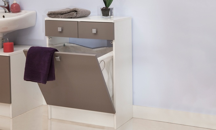 Opbergkast Voor Badkamer : Opbergkast voor de badkamer groupon