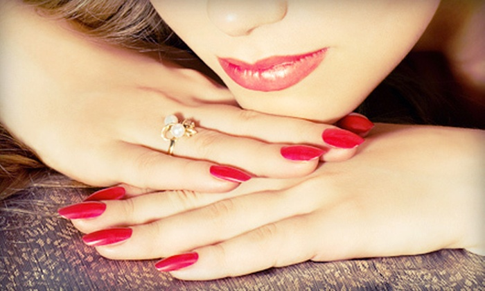 Lucertola's Salon of Hudson - Springfield: Manicure, Shellac Manicure, or Mani-Pedi at Lucertola's Salon of Hudson (Up to 53% Off)
