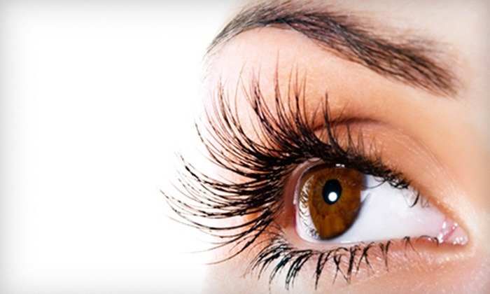 Chandra Wilson - Memphis: Temporary Cluster-Tab Eyelash Extensions or Lash Extensions with Option for Fill-In from Chandra Wilson (Up to 70% Off)