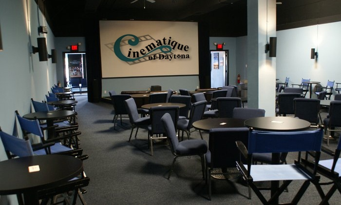 Cinematique - Daytona Beach: Movie Tickets for Two with Optional Popcorn and Soda at Cinematique (50% Off)