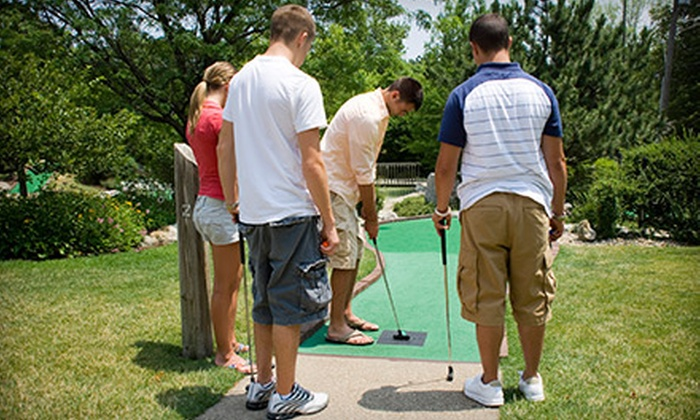 Pelican's SnoBalls - Cary: One or Two 18-Hole Rounds of Miniature Golf for Four at Pelican's SnoBalls (Half Off)