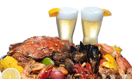 Up to 43% Off Seafood Cuisine at Bucket O' Crawfish_A