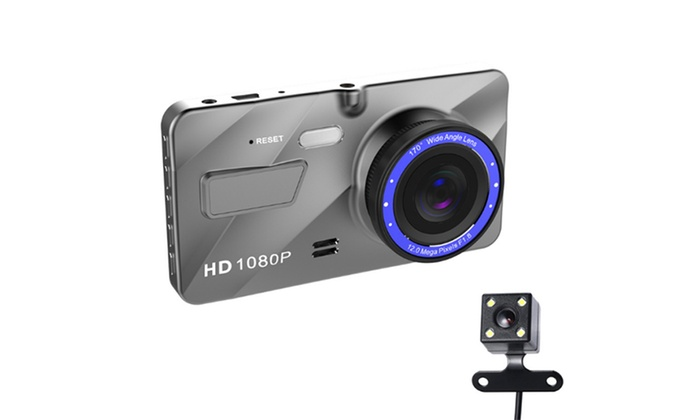 1080p Full HD Front or Front and Rear Car Camera from £30.95