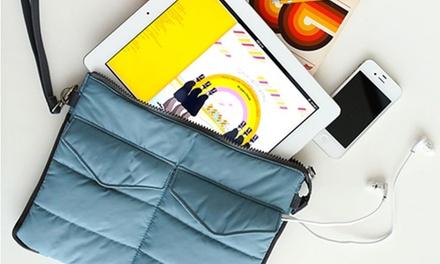 1 o 2 bolsas organizadoras acolchadas para iPad