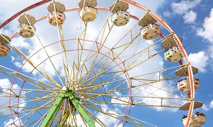 Stanislaus County Fair - Turlock: One-Day Admissions for Four People or One 10-Day Season Pass to Stanislaus County Fair (Up to 62% Off)