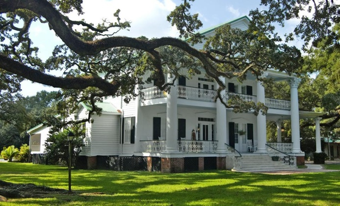 Restored 19th-Century B&B in Louisiana