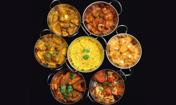 Peshwa The Royal Indian Cuisine - Peshwa, the Royal Indian Cuisine: Authentic Indian Buffet at Peshwa The Royal Indian Cuisine (40% Off). Four Options Available.