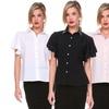 Stanzino Women's Butterfly-Sleeve Blouse