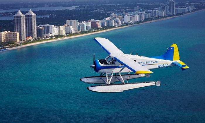 Miami Seaplane Tours - Miami Seaplane Tours: $95 for a 15-Minute South Beach Seaplane Tour from Miami Seaplane Tours ($135 Value)