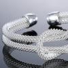 Love Me Knot Mesh Cuff Bracelet