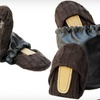 $20 for Brown Cable CitySlips Foldable Flats