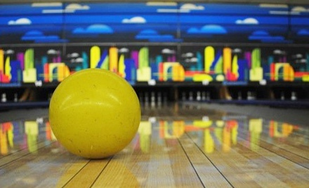 $30 for Cosmic Bowling for Up to Six with Pizza and Pop at Dickson Bowl (Up to $90.88 Value)