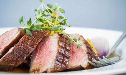 Dîner avec entrée, plat et dessert à la carte pour 2 ou 4 personnes dès 39,90 € au restaurant Aux Saveurs du Palais