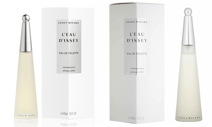 eau de toilette l 39 eau d 39 issey pour femme 50 ml ou 100 ml groupon shopping. Black Bedroom Furniture Sets. Home Design Ideas