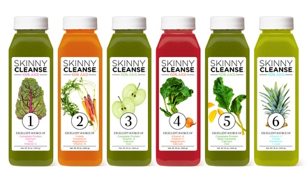 Three-Day Skinny Juice Cleanse from Raw Generation (53% Off).