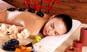 Gems: Hot Stone or Full Body Massage (£19) With Taster Facial (£25) at Gems Hair and Beauty Salon (Up to 67% Off)