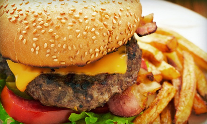 Wilderness Oak Diner - Stone Oak: Burgers, Sandwiches, Steaks, and Drinks at Wilderness Oak Diner (Up to 52% Off). Two Options Available.