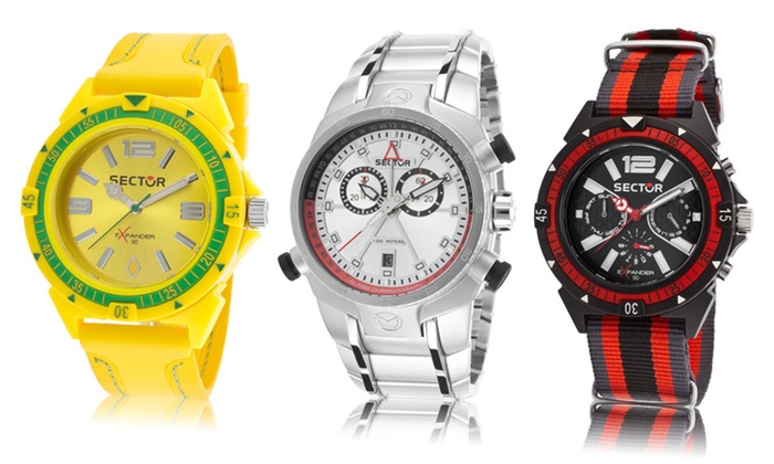 sector classic and sport watches groupon goods