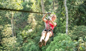 Heightened Adventures: Zip-Line Ride for One or Two at Heightened Adventures (Up to 30% Off)