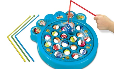 Kids licensed fishing games groupon goods for Wmat game and fish