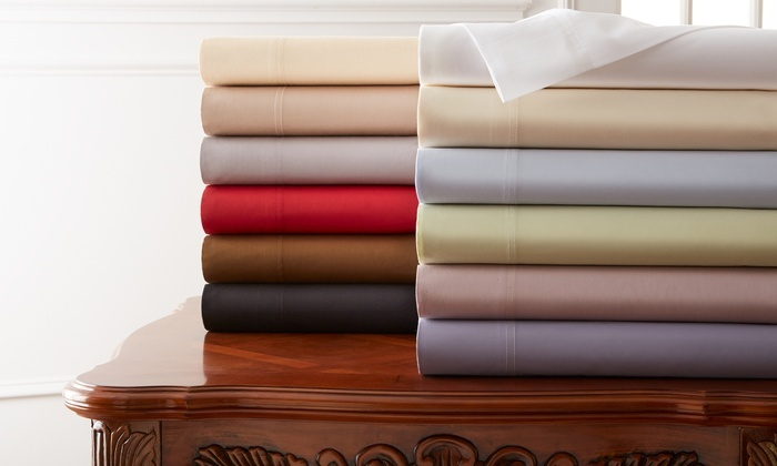 Hotel New York 800 Thread Count 100 Cotton Sheets Groupon