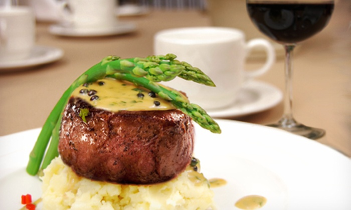 Sam's Steakhouse - Grantwood Village: $100 or $200 Off Your Bill at Sam's Steakhouse