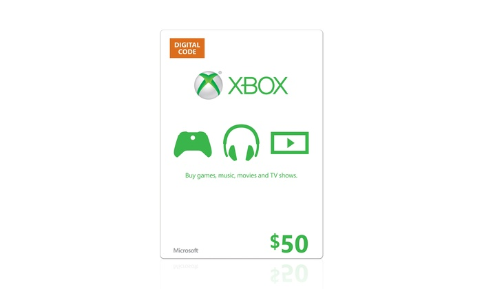 $50 Xbox Live Credit