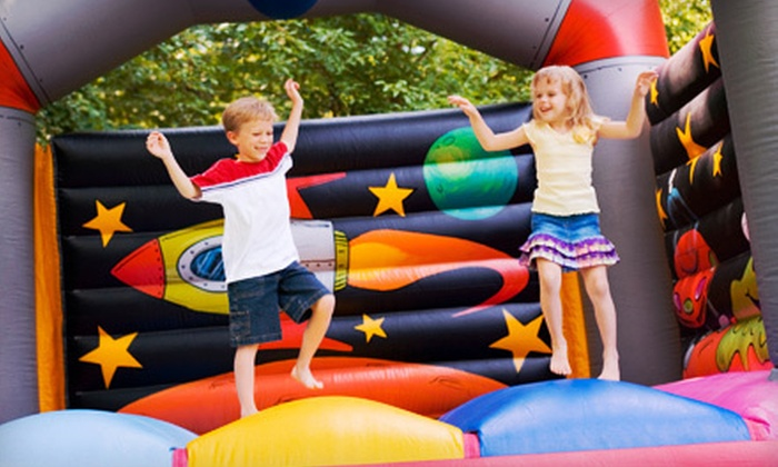Bounce & Play - Racine: 5 or 10 Visits, or a Party for up to 16 Kids at Bounce & Play in Racine (Up to 59% Off)