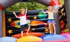 Bounce & Play-oob - Racine: 5 or 10 Visits, or a Party for up to 16 Kids at Bounce & Play in Racine (Up to 59% Off)