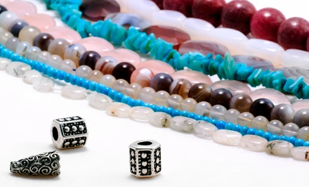 Jewelry-Making Class for One or Supplies at Brooklyn Bead Box (Up to 50% Off). Two Options Available.