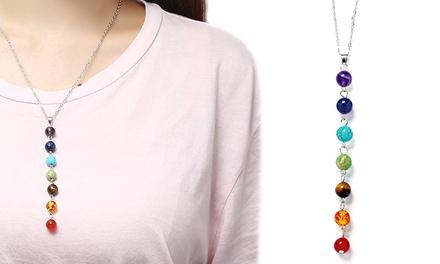 Seven-Stone Chakra Necklace