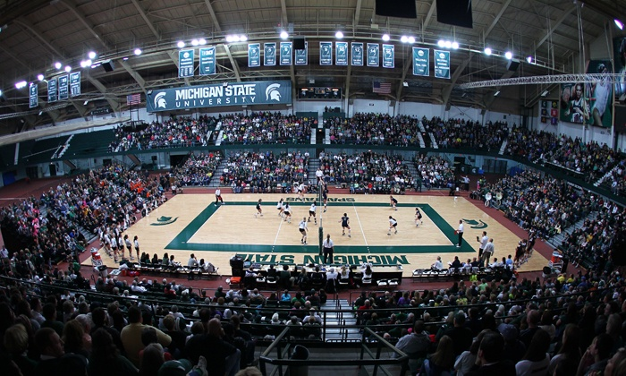 Michigan State University Women's Volleyball - Michigan State University: $8 to See a Michigan State Women's Volleyball Game for Two at Jenison Field House on Saturday, November 23 ($16 Value)
