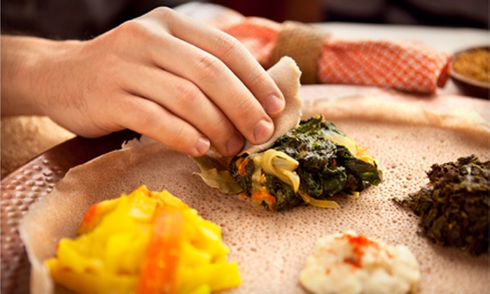 Derae Restaurant - Hadley & Prescott Community Association: Middle Eastern and Ethiopian Cuisine at Derae Restaurant (Up to 53% Off). Two Options Available.