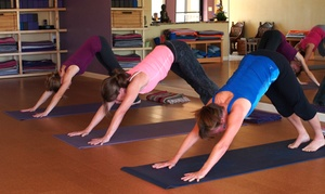 Yoga Village: 5 or 10 Yoga Classes at Yoga Village (Up to 71% Off)