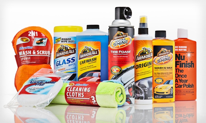 Car-Care Kit: $49 for Car-Care Kit with Armor All, Clean-Rite, and Nu Finish Products ($75.99 List Price). Free Shipping and Returns.