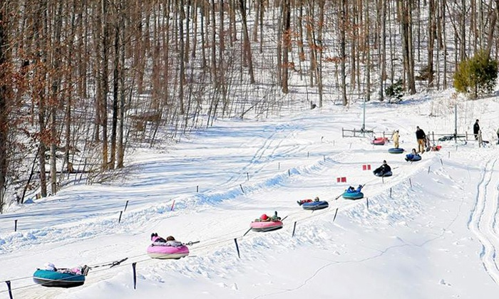 Snow Tubing at Alpine Mountain Resort (Up to 81% Off). Five Options Available.
