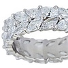 9 CTTW Cubic Zirconia Eternity Ring in Sterling Silver