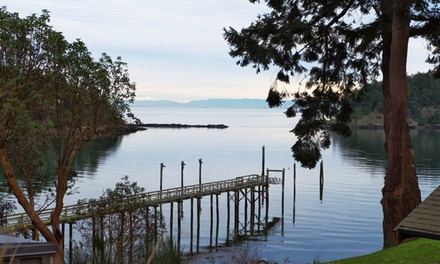 Eco-Friendly Waterfront Resort in Gulf Islands