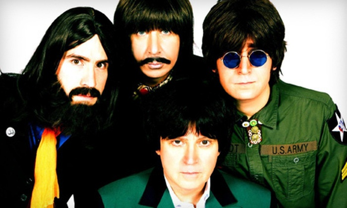 """""""American English - Beatles Tribute"""" - Mojoes: American English: Beatles Tribute for Two with Drinks at Mojoes on Friday, December 21, at 9 p.m. (Up to $34.50 Value)"""