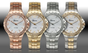 Geneva Platinum Beam Collection Women