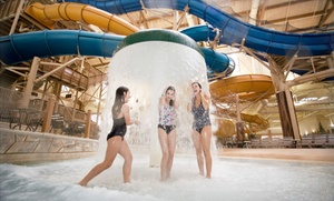 Great Wolf Lodge Water Park near Kansas City at Great Wolf Lodge Kansas City, plus 6.0% Cash Back from Ebates.