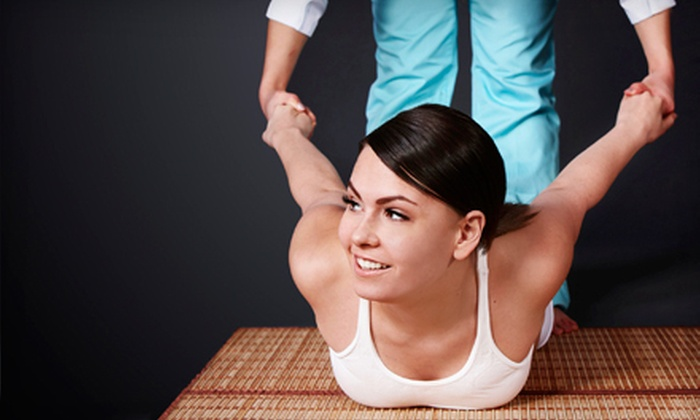 Karina Thai Massage - San Mateo: $39 for Thai-Style Deep-Tissue Massage for One or Ménage à Trois Thai Massage for Two at Karina Thai Massage ($78 Value)