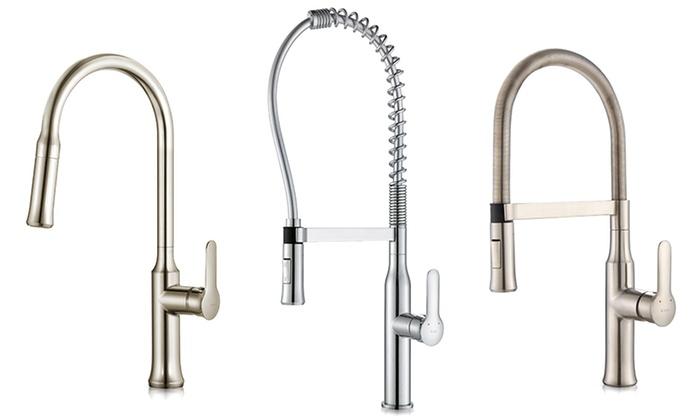 Kraus Nola Single Lever Kitchen Faucets: Kraus Nola Single Lever Kitchen  Faucets