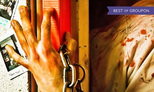 Trapped in a Room with a Zombie: $16 for Room-Escape Game Admission for One at Trapped in a Room with a Zombie ($28 Value)