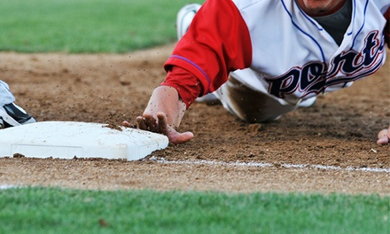 Two or Four Tickets to a Stockton Ports Baseball Game at Banner Island Ballpark (Half Off)