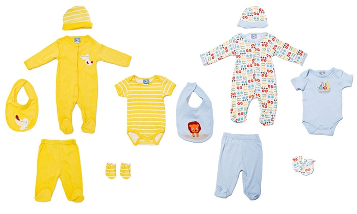 Sweet and Soft 6-Piece Newborn Sets: Sweet and Soft 7-Piece Newborn Sets. Multiple Designs Available. Free Returns.