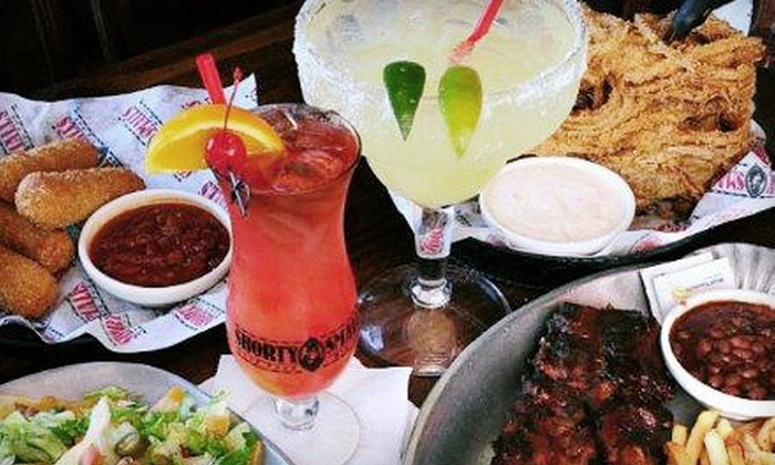 Shorty Small's - River Mountain: Classic American Cuisine at Shorty Small's (Up to 52% Off). Two Options Available.