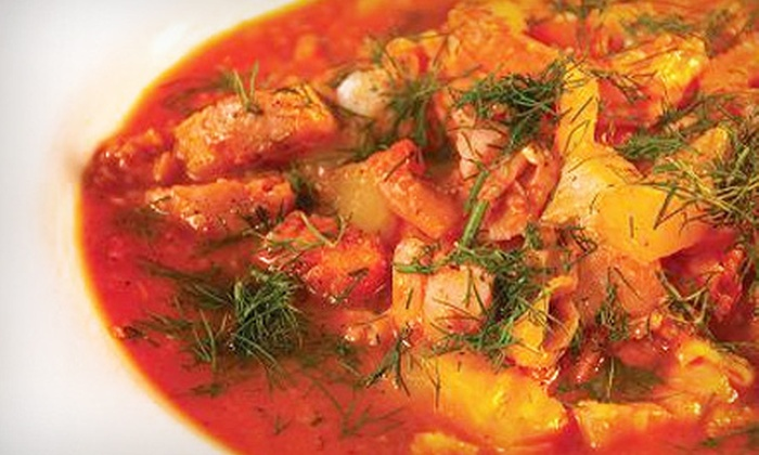 Mediterranean Bistro - Arcola East-North Side: Appetizers and Drinks for Two or $20 for $40 Worth of Upscale Food for Dinner or Lunch at Mediterranean Bistro